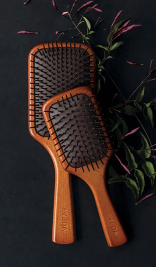 hair brush aveda salon